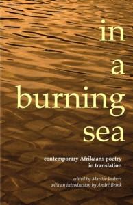 in burning sea omslag