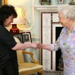 Carol Ann Duffy in Buckingham Palace
