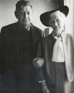 W.H. Auden & Marianne Moore