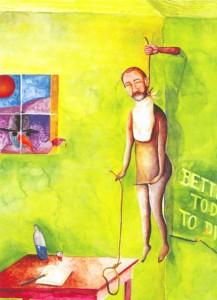 fig 4: Hangende man