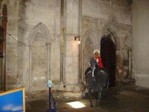Romeinse soldaat, Sint Albans katedraal Engeland