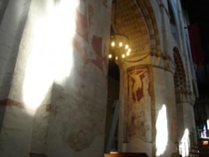 Kerskandelaar, Sint Albans katedraal Engeland