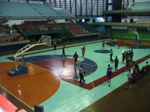 Basketbalspelers in Havana