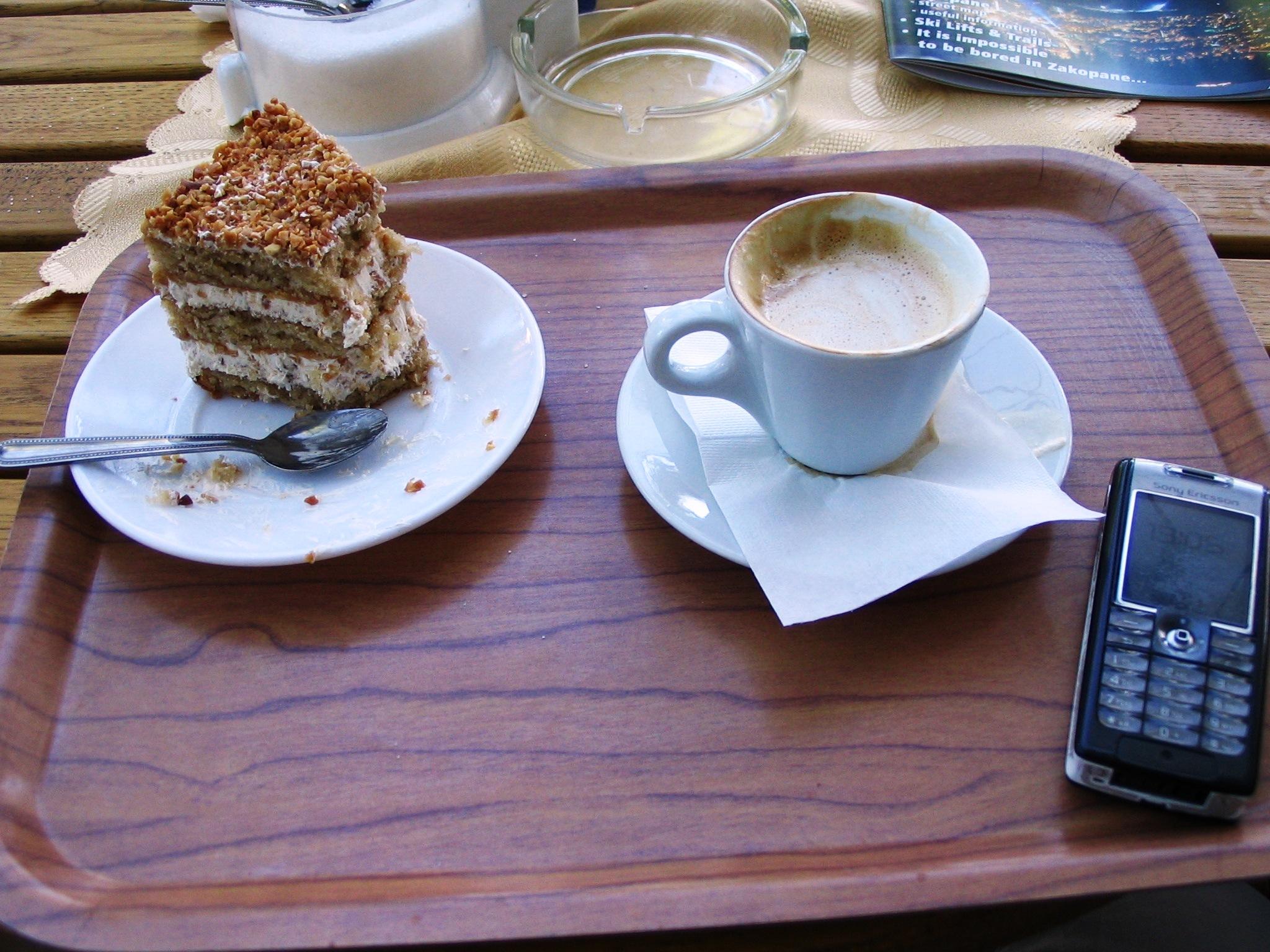 Koffie in Zakopane