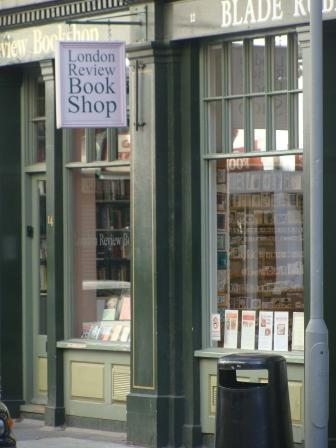 London Review Bookshop in Londen