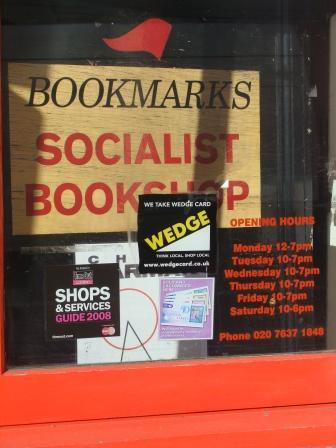 Bookmarks in Londen