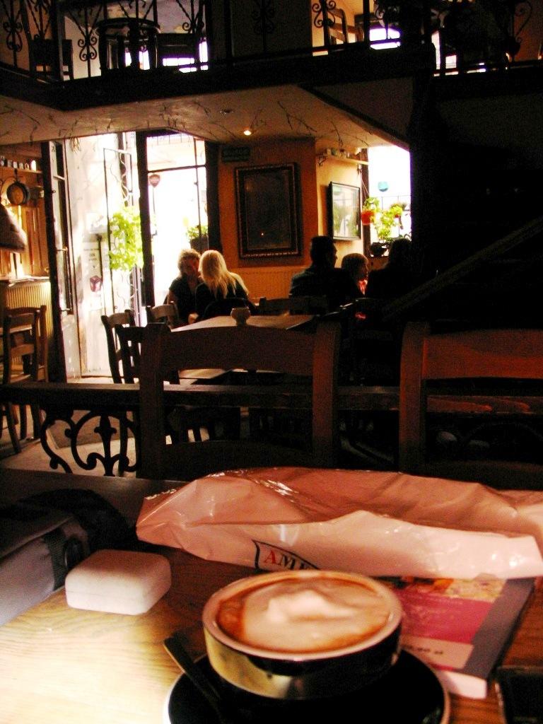Koffie in Kraków