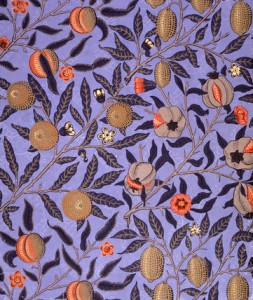 Muurpapier deur William Morris - 'Vrugte'