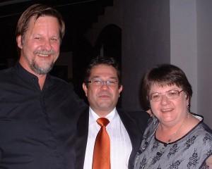 Louis Esterhuizen, Melt Myburgh & Annelie Botes