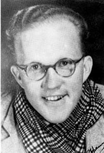 D.J. Opperman as student
