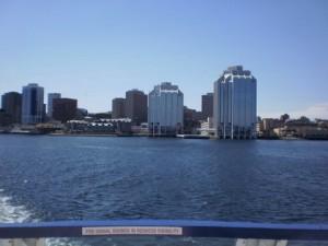 Halifax vanaf 'n veerboot