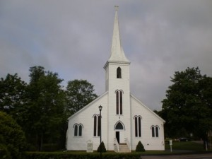 Kerk in Mahone Bay