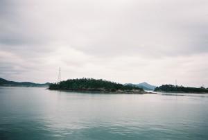 'n Eiland soortgelyk aan Yeongpong eiland