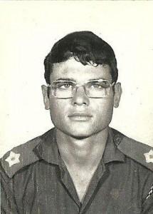 Jong offisier in die Army, 1972