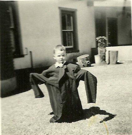 Twee jaar oud. Louwsburg, Zululand