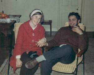 Pas verloof. 1968 (op die plaas Tevrede naby Tweeling)