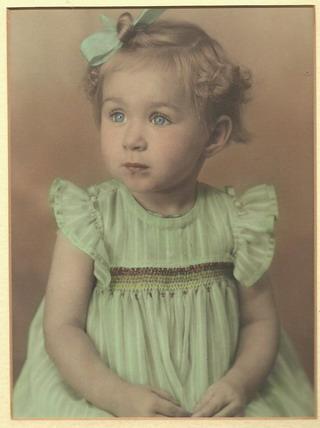 Zandra as tweejarige