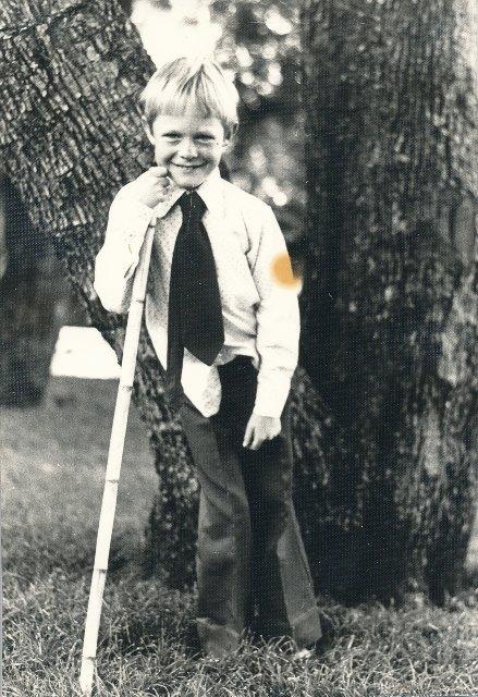 1975, vyf jaar oud, na Sondagmiddagete by Oupa en Ouma Rossouw in Jan van Riebeeckstraat, Pretoria-Noord