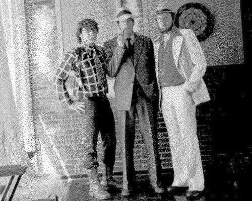 Rampokkers gereed vir die Jool. 1977.