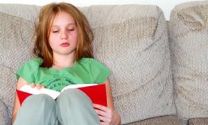 Jong boekliefhebber