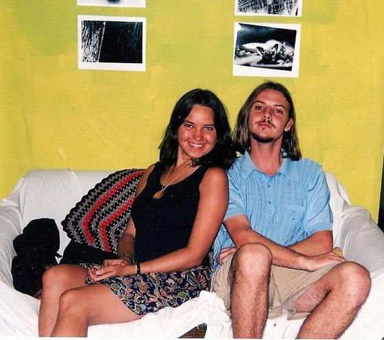 Saam met Theo Kemp in Stellenbosch, 1999. Hulle raak vriende in matriek by die ATKV Skryfskool op Potchefstroom.