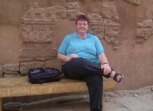 Joan Hambidge in Karnak