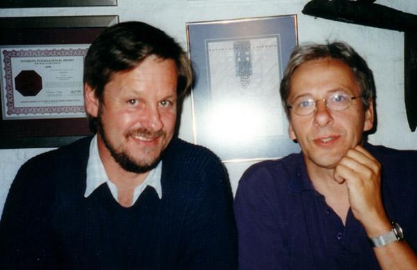Ontmoeting met Chris Coolsma in 2005