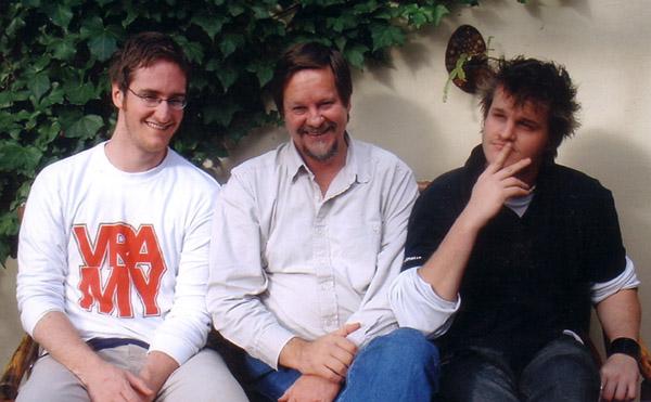 Saam met die twee seuns