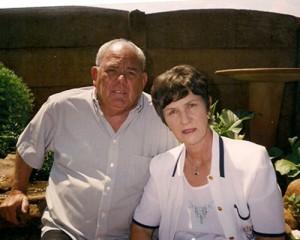 Saam met Magdaleen, byna 40 jaar later.