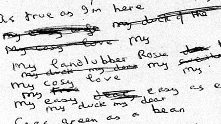 Fragment uit Thomas se notaboek