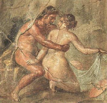 Wandskilderye, getitled Amores