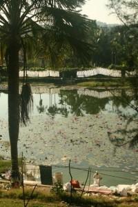 Wasdag in Port Blair. Andaman Eilande. ©m.o.