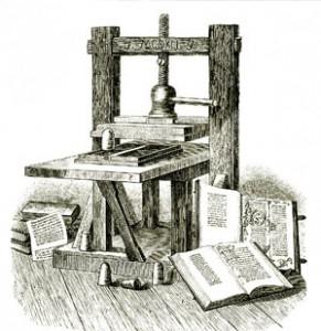 Gutenberg Drukpers