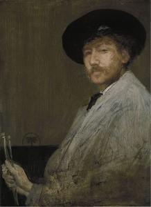 Selfportret. James Whistler