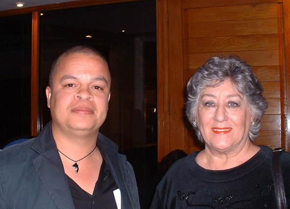 Digters Alfred Schaffer en Zandra Bezuidenhout