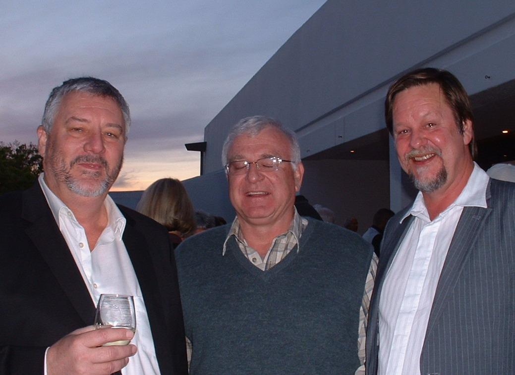 Links na regs: Daniel Hugo, Bernard Odendaal & Louis Esterhuizen