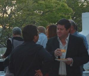 Nicol Stassen, (Protea Boekhuis) in gesprek met Melt Myburgh