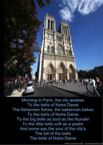 Disney temaliedjie vir The Hunchback of Notre Dame.
