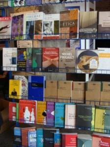 My geliefde Foucault, boekwinkel, PUC-SP