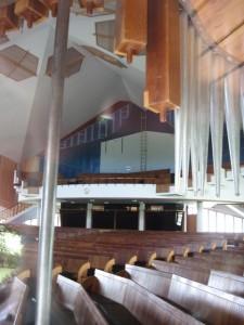Cradock Noord NG Kerk, balkon en plafon