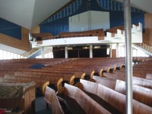 Cradock Noord NG Kerk, balkon