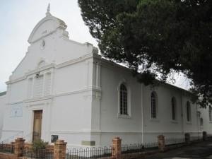 Union Church uit 1893, nou die NH Kerk