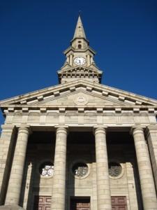 Moederkerk, vooraansig detail