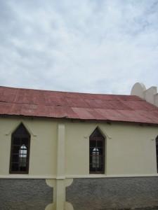 Naamlose kerk, detail