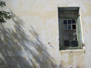 Philipstown, muur en venster