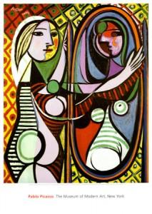 Picasso - Fille devant un miroir