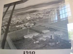 Foto van die foto uit 1950