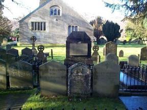 Wordsworth se graf in Grasmere