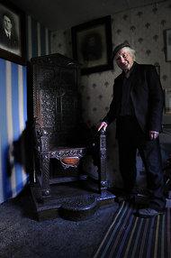 Gerald Williams by Hedd Wyn se stoel