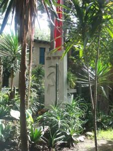 Die Trotski-huis in Mexiko Stad
